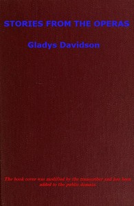Cover of the book Stories from the operas by Gladys Davidson