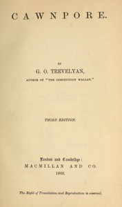 Cover of the book Cawnpore by George Otto Trevelyan