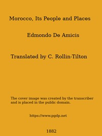 Cover of the book Morocco : its people and places by Edmondo De Amicis