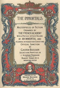 Cover of the book The French Immortals Series — Complete by Various