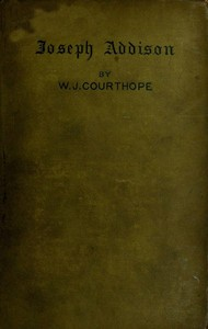 Cover of the book Addison by William John Courthope