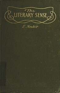 Cover of the book The literary sense by E. (Edith) Nesbit