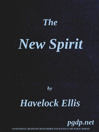 Cover of the book The new spirit by Havelock Ellis
