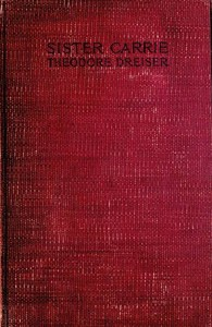 Cover of the book Sister Carrie by Theodore Dreiser