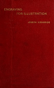 Cover of the book Engraving for illustration; by Joseph Kirkbride
