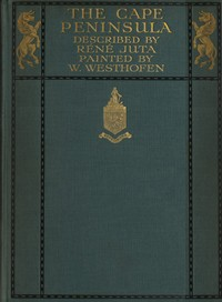 Cover of the book The Cape peninsula : pen and colour sketches by Réné Juta