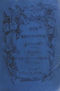 Cover of the book Our sentimental journey through France and Italy by Joseph Pennell