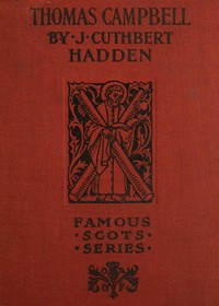 Cover of the book Thomas Campbell by J. Cuthbert (James Cuthbert) Hadden