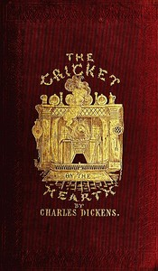 Cover of the book The Cricket on the Hearth by Charles Dickens