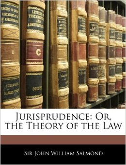 Cover of the book Jurisprudence by John William Salmond