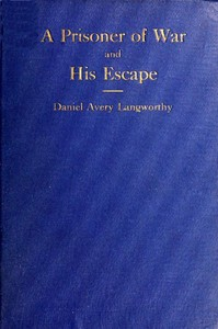 Cover of the book Reminiscences of a prisoner of war and his escape by Daniel Avery Langworthy