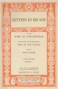 Cover of the book Quotes and Images from Chesterfield's Letters to His Son by Philip Dormer Stanhope Chesterfield