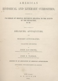Cover of the book American Historical and Literary Antiquities, Part 06 by John F. Watson