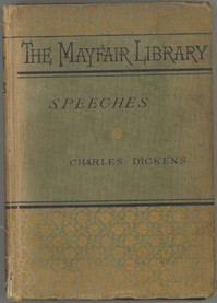 Cover of the book Speeches: Literary and Social by Charles Dickens