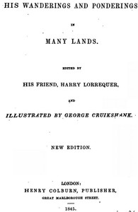 Cover of the book Arthur O'Leary : his wanderings and ponderings in many lands by Charles James Lever