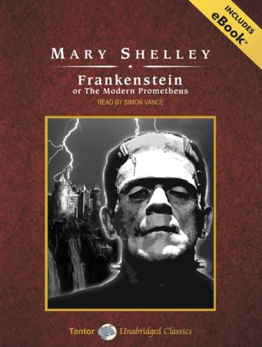 Cover of the book Frankenstein, or the Modern Prometheus by Mary Wollstonecraft Shelley