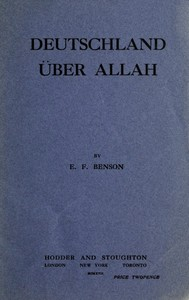 Cover of the book Deutschland über Allah by E. F. (Edward Frederic) Benson