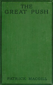Cover of the book The great push; an episode of the great war by Patrick MacGill