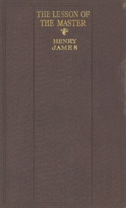 Cover of the book The Lesson of the Master by Henry James