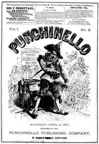 Cover of the book Punchinello, Volume 1, No. 02, April 9, 1870 by Various