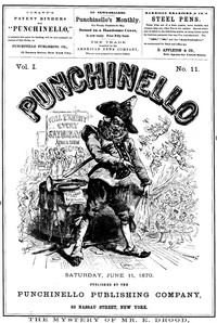 Cover of the book Punchinello, Volume 1, No. 11, June 11, 1870 by Various