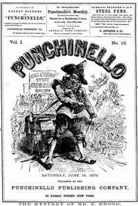 Cover of the book Punchinello, Volume 1, No. 12, June 18, 1870 by Various