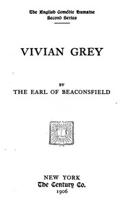Cover of the book Vivian Grey by Benjamin Disraeli