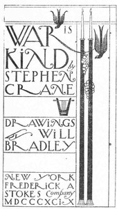 Cover of the book War is Kind by Stephen Crane